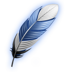 newsletter feather