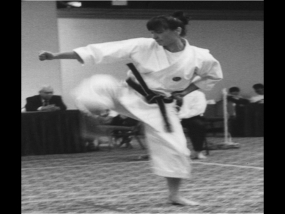 Carole M. Morrone, ShotoKan of Detroit Michigan Sensei roku dan