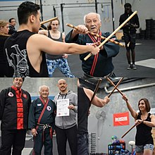 arnis practitioners training