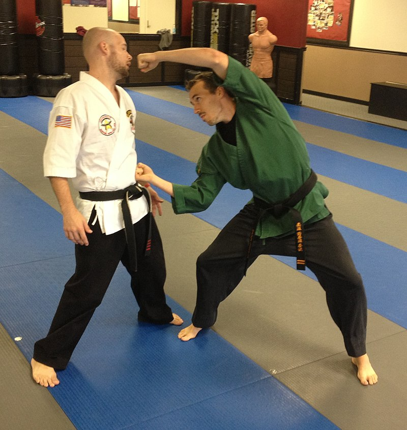 2 american kenpo practitioners