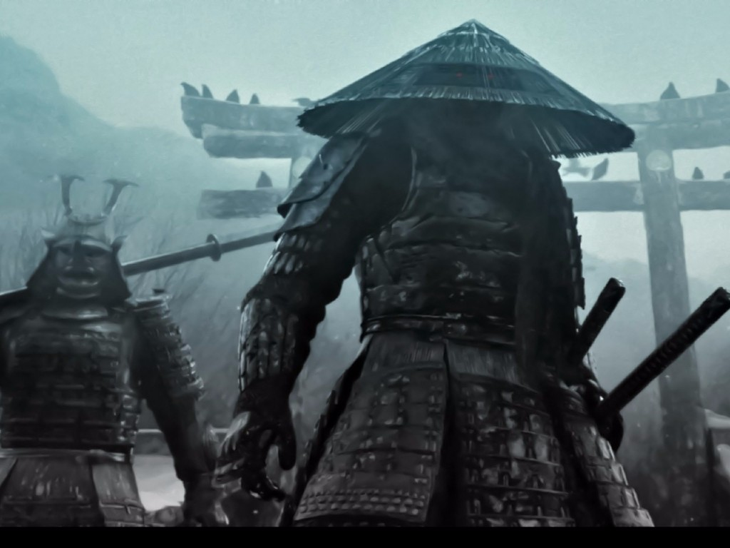 samurai in the mist