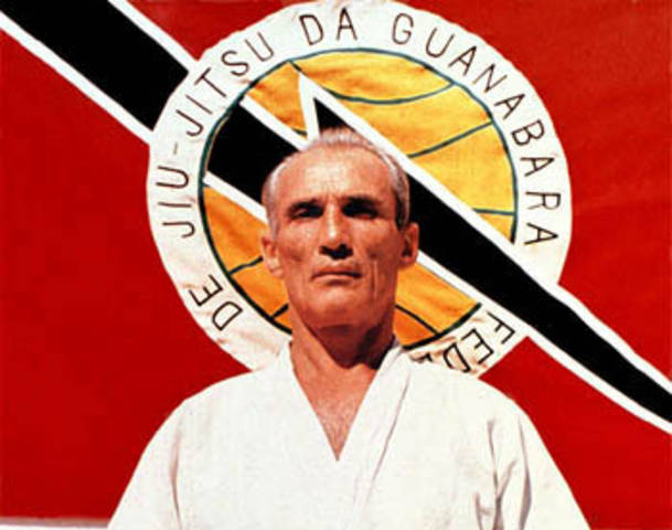 Founder of Gracie Jiu Jitsu, Helio Gracie