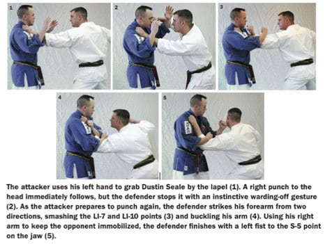 martial arts how to sequence