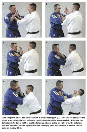 counter attack sequence when being grabbed
