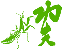 praying mantis kung fu logo