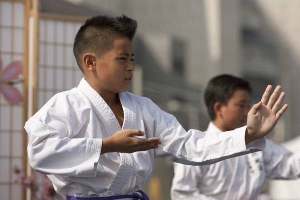 youth martial artists