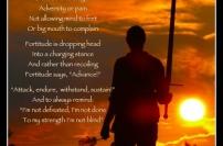 courage bravery fortitude philosophy tetsu gaku motivational leadership inspirational wisdom quotes master sensei teacher jack m sabat shihan kyoshi hanchi hachi dan grand meijin butaedo budo secrets