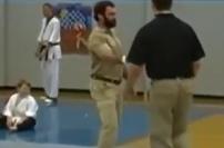 Hapkido Grandmaster Chris Garland karate martial arts demonstration exhibition