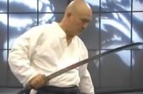 Samurai Katana Fight Science Toshishiro Obata Bren Foster sword kata martial arts master sensei performance demonstration