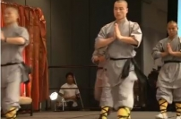 Opening Demonstration by Shaolin Warrior Monks at the 1st Shaolin Summit martial arts ancient karate demonstration spiritual strength enlightenment master
