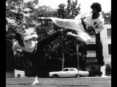 Dr Alex Sternberg Flying Kick