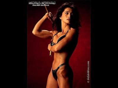 THE FEMALE SIDE OF BUDO martial arts women wombmen bad ass babes fighting women weapons kobudo