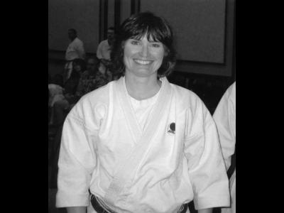 Carole M. Morrone, ShotoKan of Detroit Michigan Sensei roku dan
