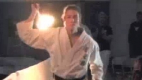 Tsunami Flaming Areno weapons kon bo kata koei kan karate do
