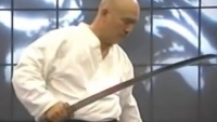 Samurai Katana Fight Science Toshishiro Obata Bren Foster sword kata martial arts master sensei performance demonstration