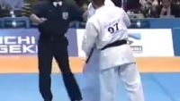 BRUTAL KYOKUSHIN KNOCKOUT [OUT COLD] karate martial arts tournament warriors battle KO