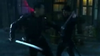 Into the Badlands Sword Fight Scene Daniel Wu samurai entertainment katana